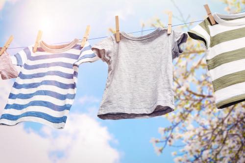 Kleding laten wassen en strijken